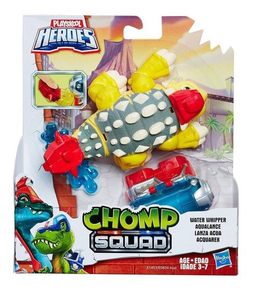 CHOMP SQUAD DINO AND RESCUE RIDER HASBRO