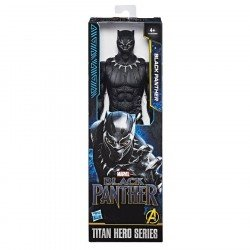 BLACK PANTHER 12IN TITAN  HERO FIGURE AST HASBRO