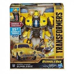Transformers: Bumblebee - Figura de acción de Bumblebee energizado