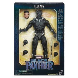 BLACK PANTHER 12 LEGENDS BLACK PANTHER HASBRO