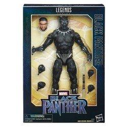 BLACK PANTHER 12 LEGENDS BLACK PANTHER HASBRO