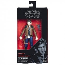 Figura Han Solo 6 Pulgadas The Black Series Star Wars
