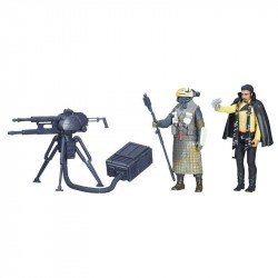 STAR WARS FORCE LINK 2.0 LANDO CALRISSIAN & KESSEL GUARD 2-PACK