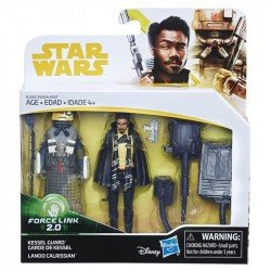 STAR WARS FORCE LINK 2.0 LANDO CALRISSIAN & KESSEL GUARD 2-PACK