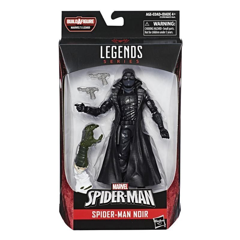 Figura Spider-Man Noir 6 Pulgadas Spider-Man Marvel