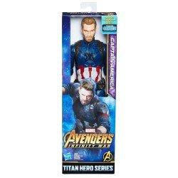 AVENGERS 12 TITAN HERO CAPITAN AMERICA HASBRO