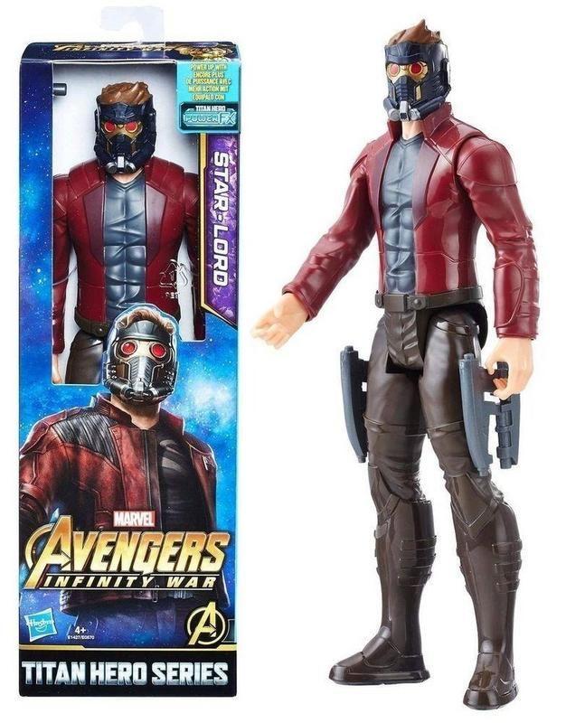 AVENGERS 12 TITAN HERO HERO STAR LORD