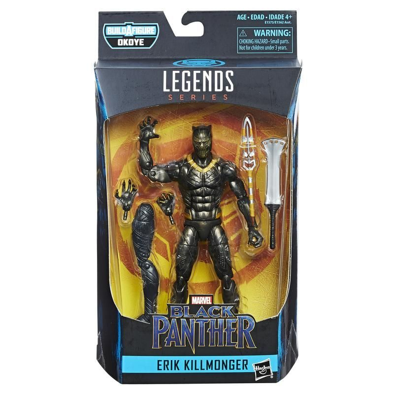 Marvel Legends E1562 Figura 6 Pulgadas Black Panther Marvel