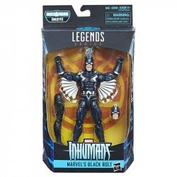 Marvel E1575 Figura Marvel's Black Bolt 6 Pulgadas Black Panther Marvel