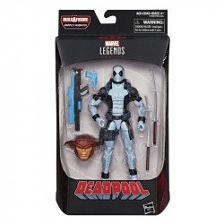 Figura Deadpool X Force 6 Pulgadas Deadpool Marvel Legends