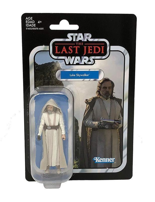 Figura Luke Skywalker 3.75 Pulgadas Colección Vintage Star Wars