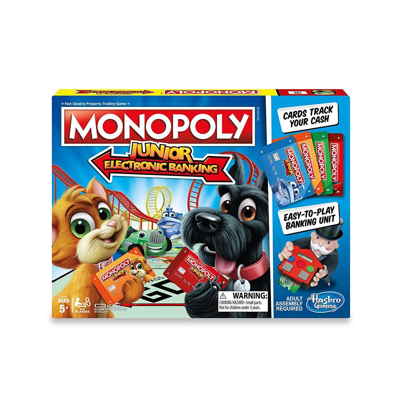 Monopoly Junior Banco Electronico Hasbro Juguetron