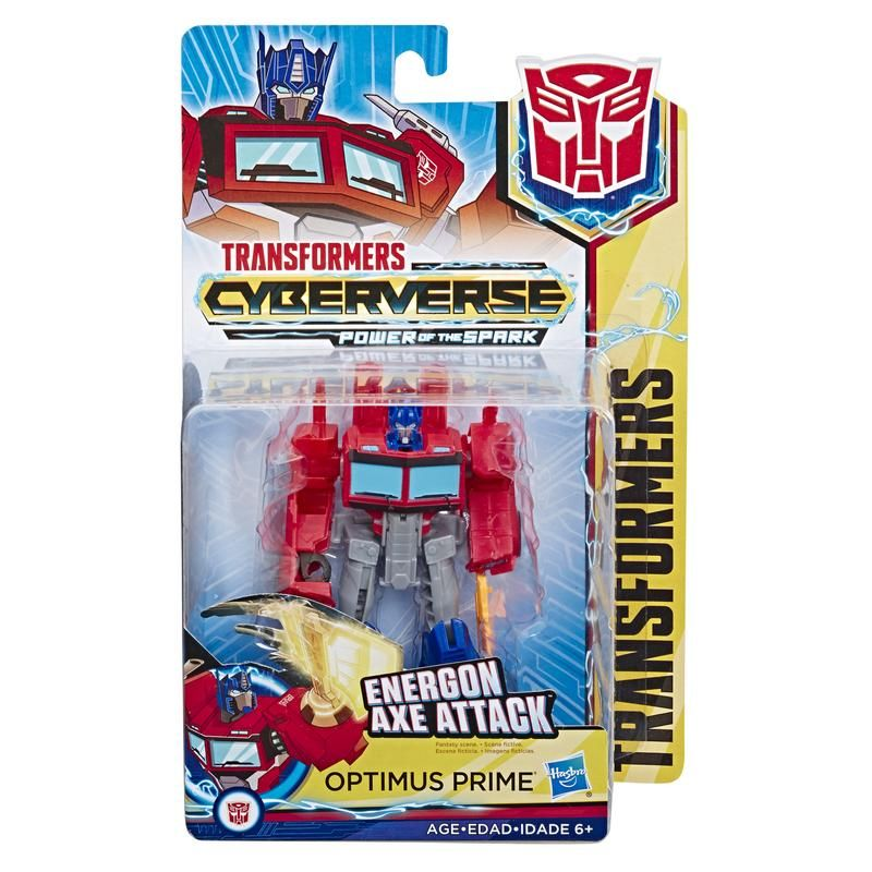 TRANSFORMERS CYBERVERSE WARRIOR CLASS
