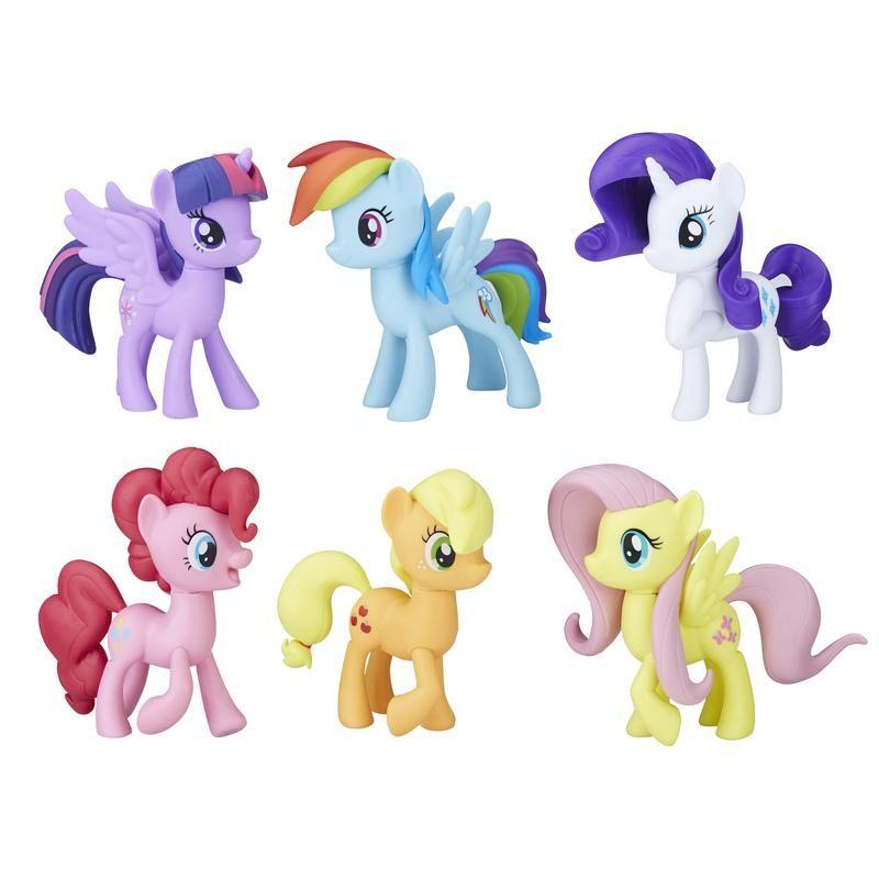 Colección de Figuras Las 6 amigas My Little Pony