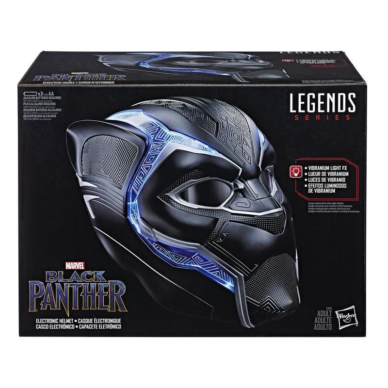Casco Electrónico Black Panther Marvel Legends