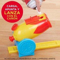 Pastelazo Cañonazo!