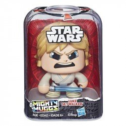 Star Wars E2173 Figura Luke Skywalker Mighty Muggs