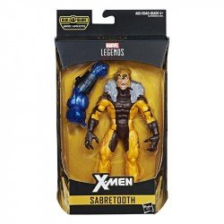 Figura Sabretooth 6 Pulgadas X-Men Marvel Legends