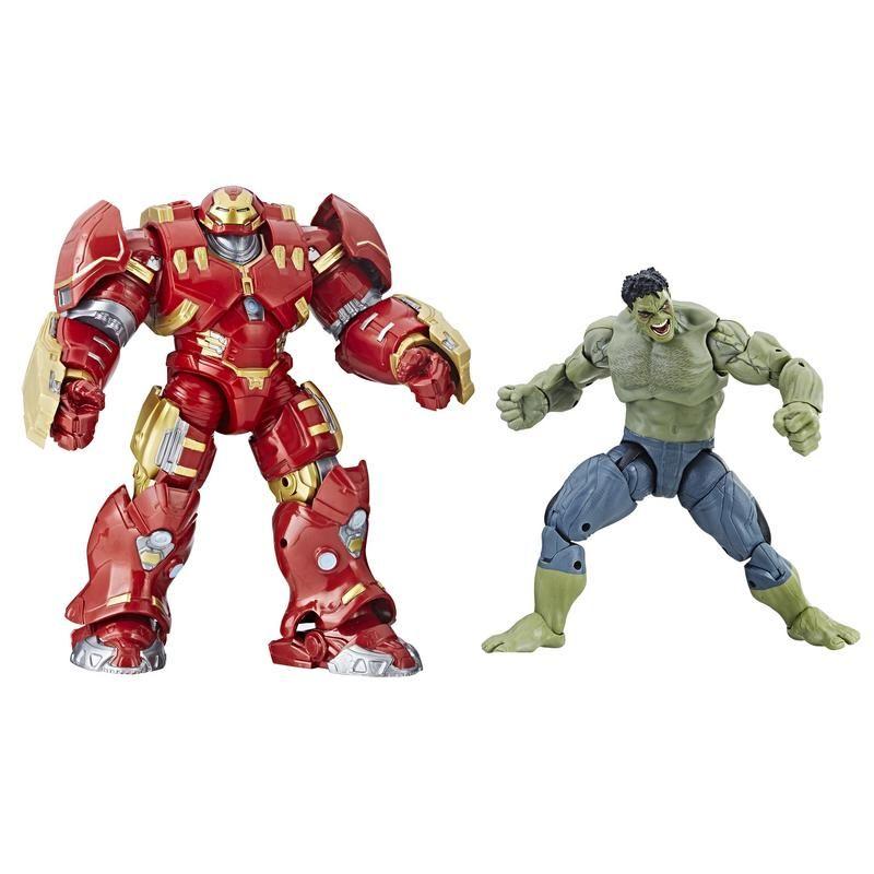 Figuras Hulk & Hulkbuster Marvel 10th Anniversary