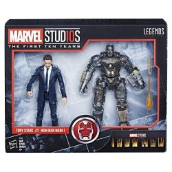Figuras Tony Stark & Iron Man Mark I Marvel 10th Anniversary