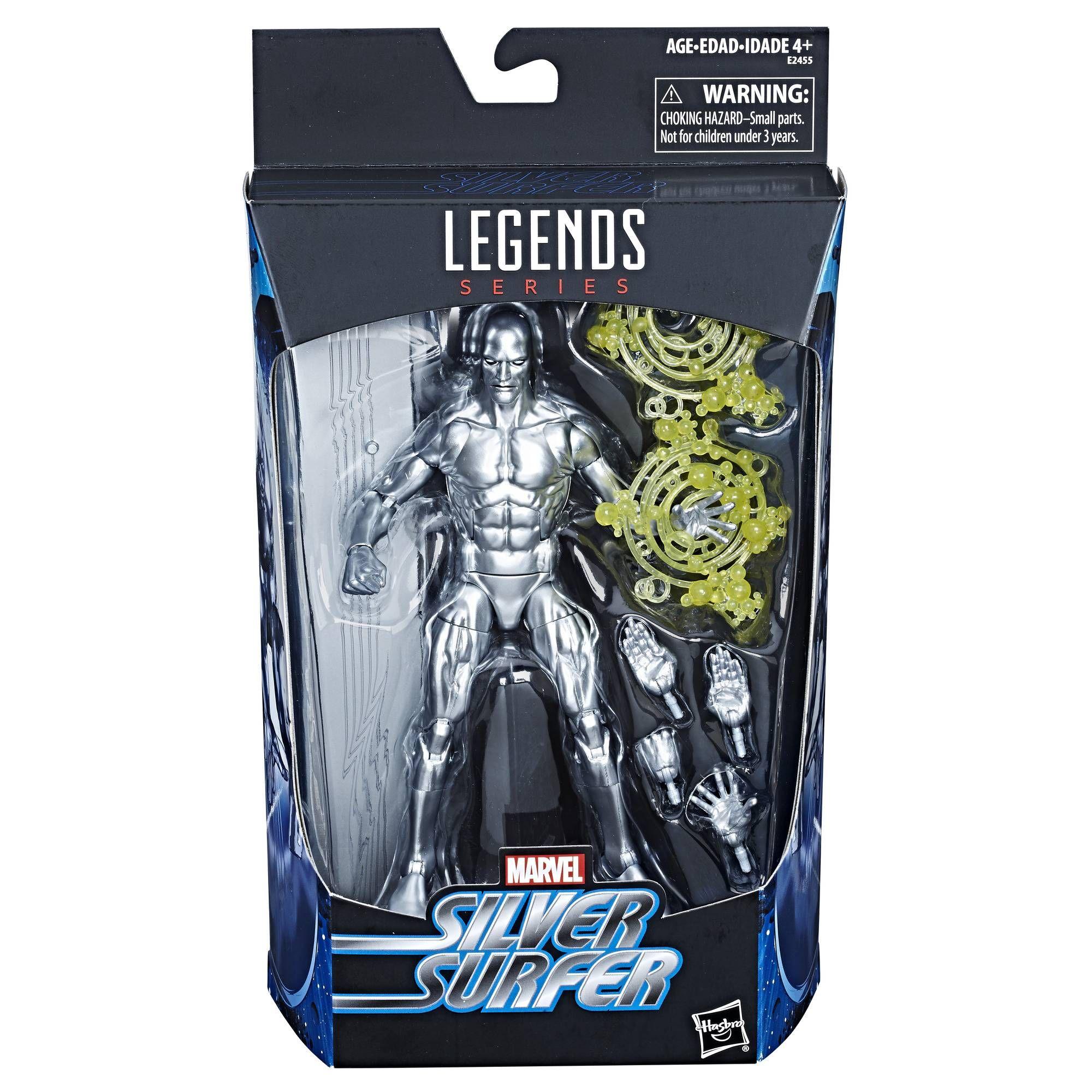 Figura Silver Sufer 6 Pulgadas Marvel Legends