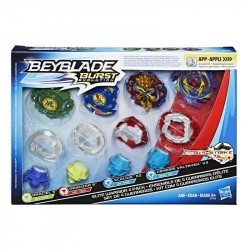Set 4 Gurreros Beyblade Burst Evolution