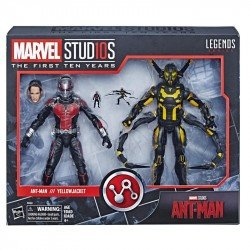 Figuras Ant-Man & Yellowjacket Marvel 10th Anniversary