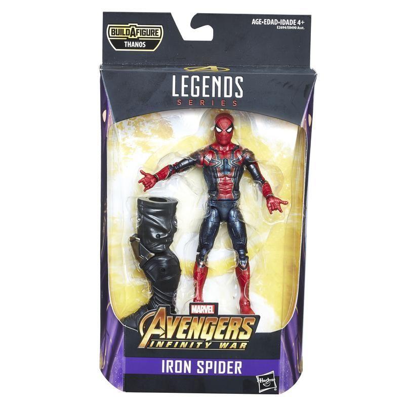 Figura Iron Spider 6 Pulgadas Avengers Marvel