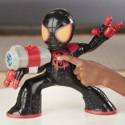Figura Shock Strike Miles Morales Spider-Man Marvel