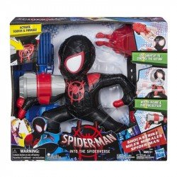 Figura Shock Strike Miles Morales Spider-Man Marvel