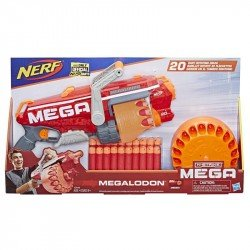 Nerf E2849 Lanzador  N-Strike Mega Megalodon Juguete Hasbro