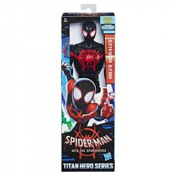 Marvel E2903 Figura de Acción Spider-Man: Into the Spider-Verse Titan Hero Series Force FX - Miles Morales Juguete Hasbro