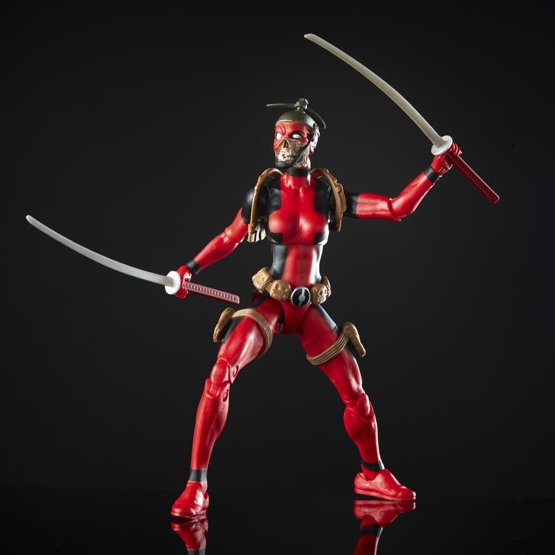 Figura Lady Deadpool 6 Pulgadas Deadpool Marvel Legends
