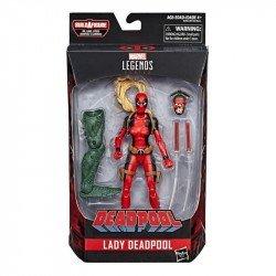 Figura Lady Deadpool 6 Pulgadas Deadpool Marvel Legends