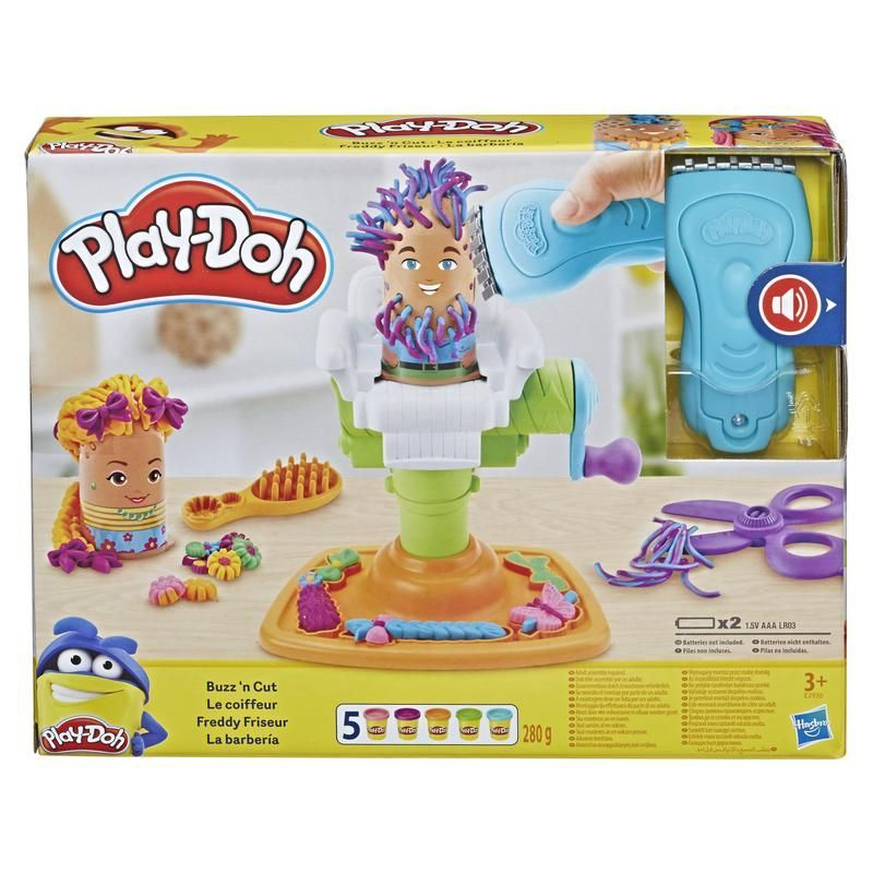 Play-Doh E2930 Divertida Peluquería  Juguete Hasbro