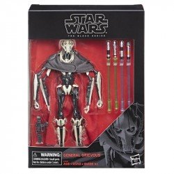 Star Wars E2989 Black Series 6 Pulgadas General Grievous