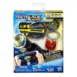 Beyblade E3015 Kit de Control Digital Beyblade Burst Evolution Genesis - Fafnir F3 Juguete Hasbro