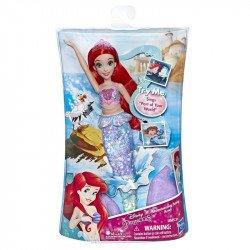 Disney Princesas E4638 Muñeca Princesa Ariel Melódica