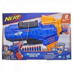 Nerf E3058 Lanzador Rukkus ICS-8 N-Strike Elite