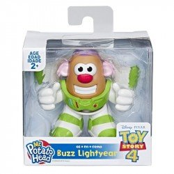 Playskool E3070 Mr. Potato Head Disney/Pixar - Minifigura de Toy Story 4 - Juguete Hasbro
