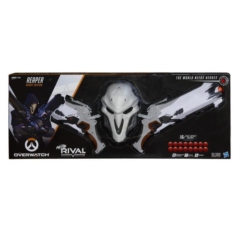 Nerf E3119 Overwatch Reaper (edición Criatura) Nerf Rival Juguete Hasbro