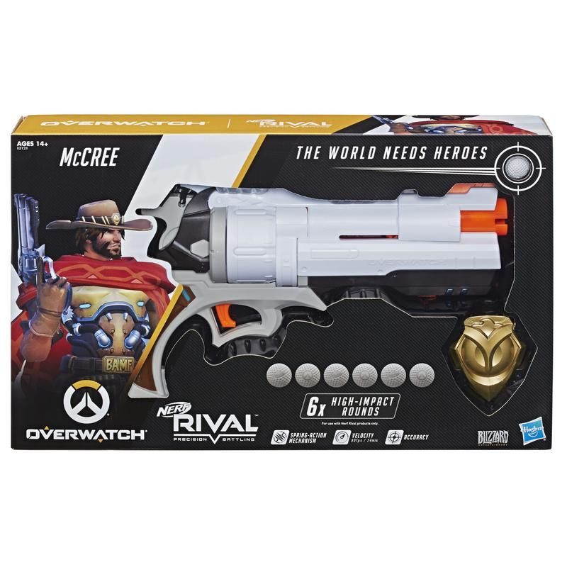 Nerf E3121 Lanzador Overwatch McCree Nerf Rival