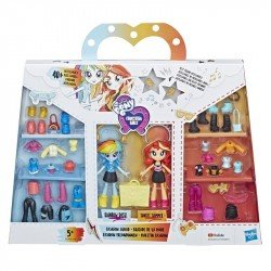 My Little Pony E4244 Set Brigada de Moda Rainbow Dash  Equestria Girls