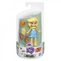 My Little Pony E4238 Mini Muñeca Applejack Brigada de Moda  Equestria Girls