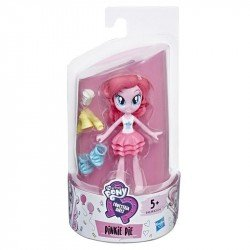My Little Pony E4239 Mini Muñeca Pinkie Pie Brigada de Moda  Equestria Girls