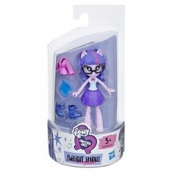 My Little Pony E4240 Mini Muñeca Twilight Sparkle Brigada de Moda  Equestria Girls