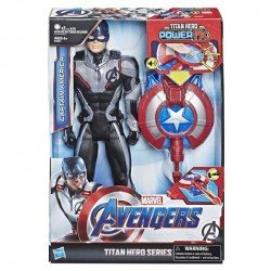 Marvel E3301  Avengers: Endgame - Titan Hero Power FX Captain America Juguete Hasbro