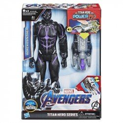 Marvel E3306  Avengers: Endgame - Titan Hero Power FX Black Panther Juguete Hasbro
