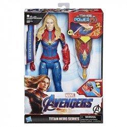 Marvel E3307  Avengers: Endgame - Titan Hero Power FX Captain  Juguete Hasbro