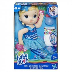 Baby Alive E3693 Baby Alive Mi Linda Sirena Rubia Juguete Hasbro